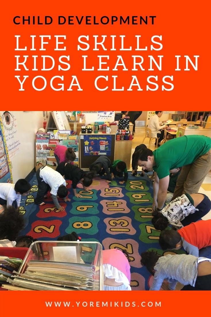 Child development life skills gained from yoga - YRM