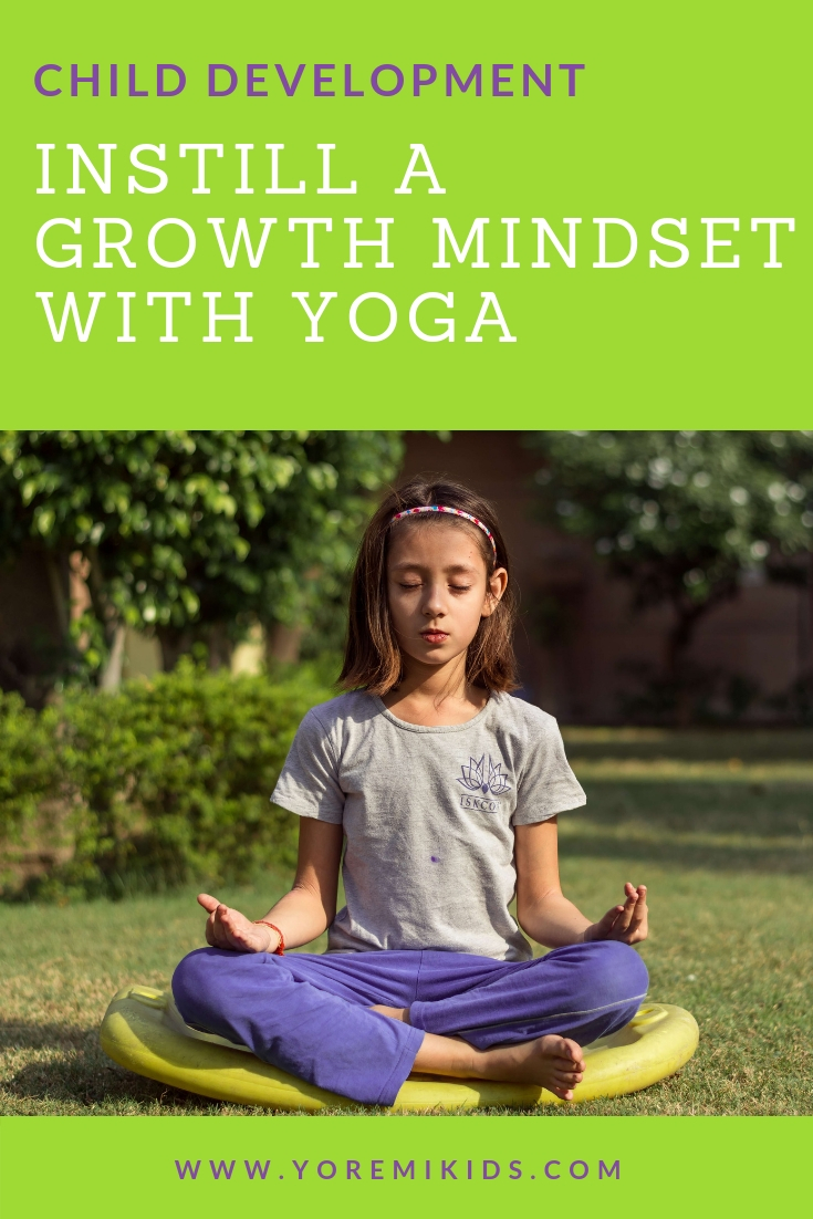 Child development growth mindset yoga - YRM