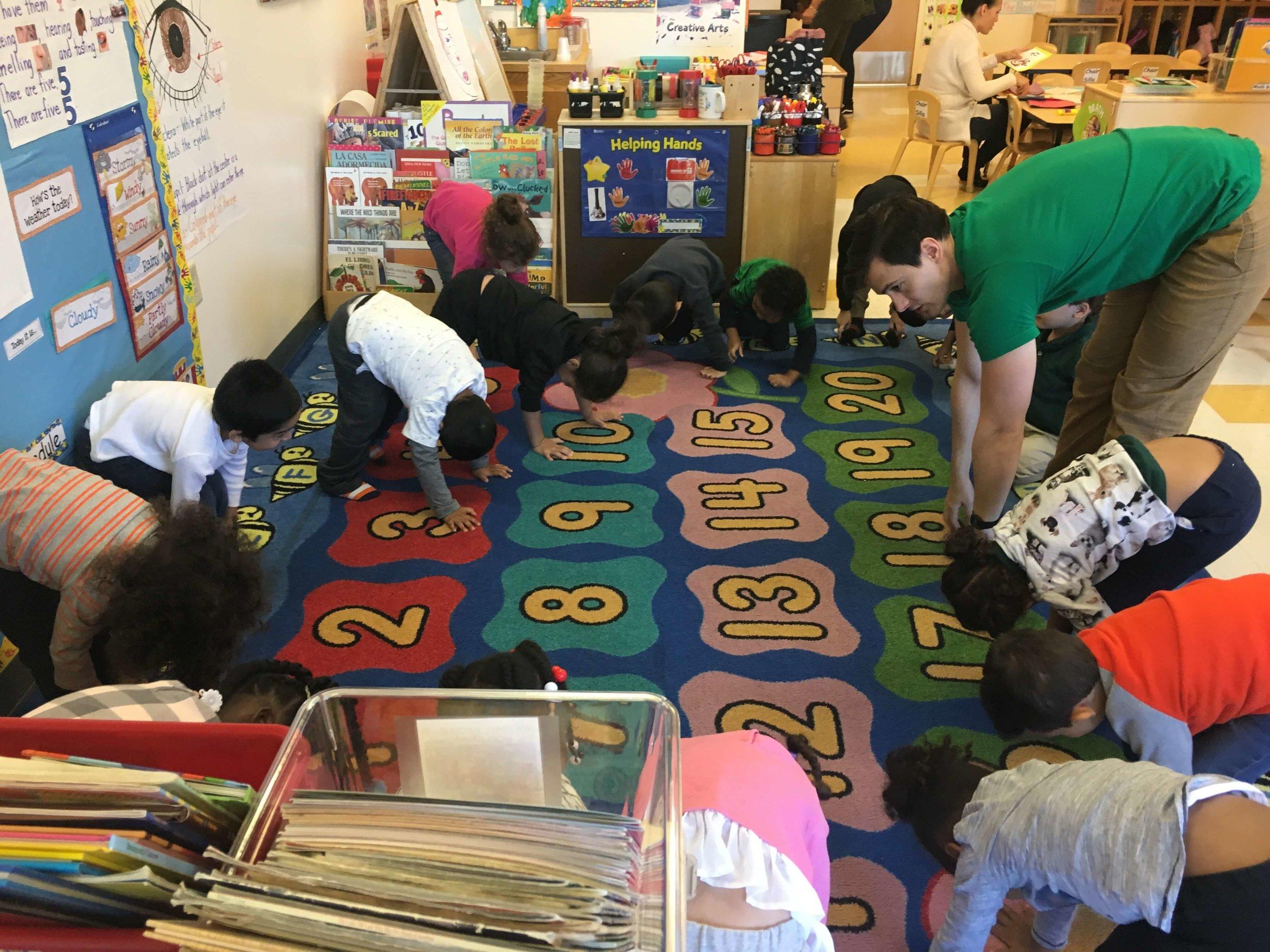 Yoga for preschoolers - YRM