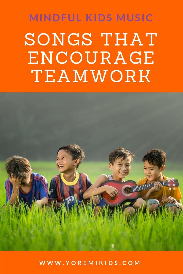Kid songs about teamwork YRM