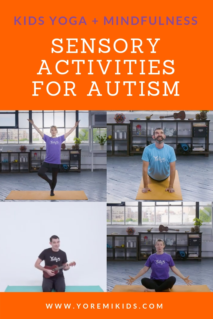 Sensory activities for kids with autism