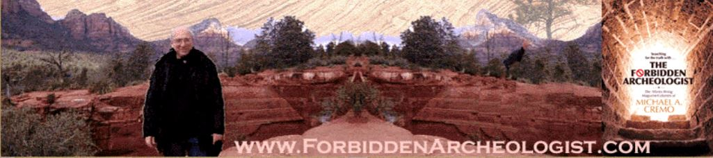 The Forbidden Archeologist: The Atlantis Rising Magazine Columns of Michael A. Cremo  Order Here: http://www.forbiddenarcheologist.com/purchase.htm