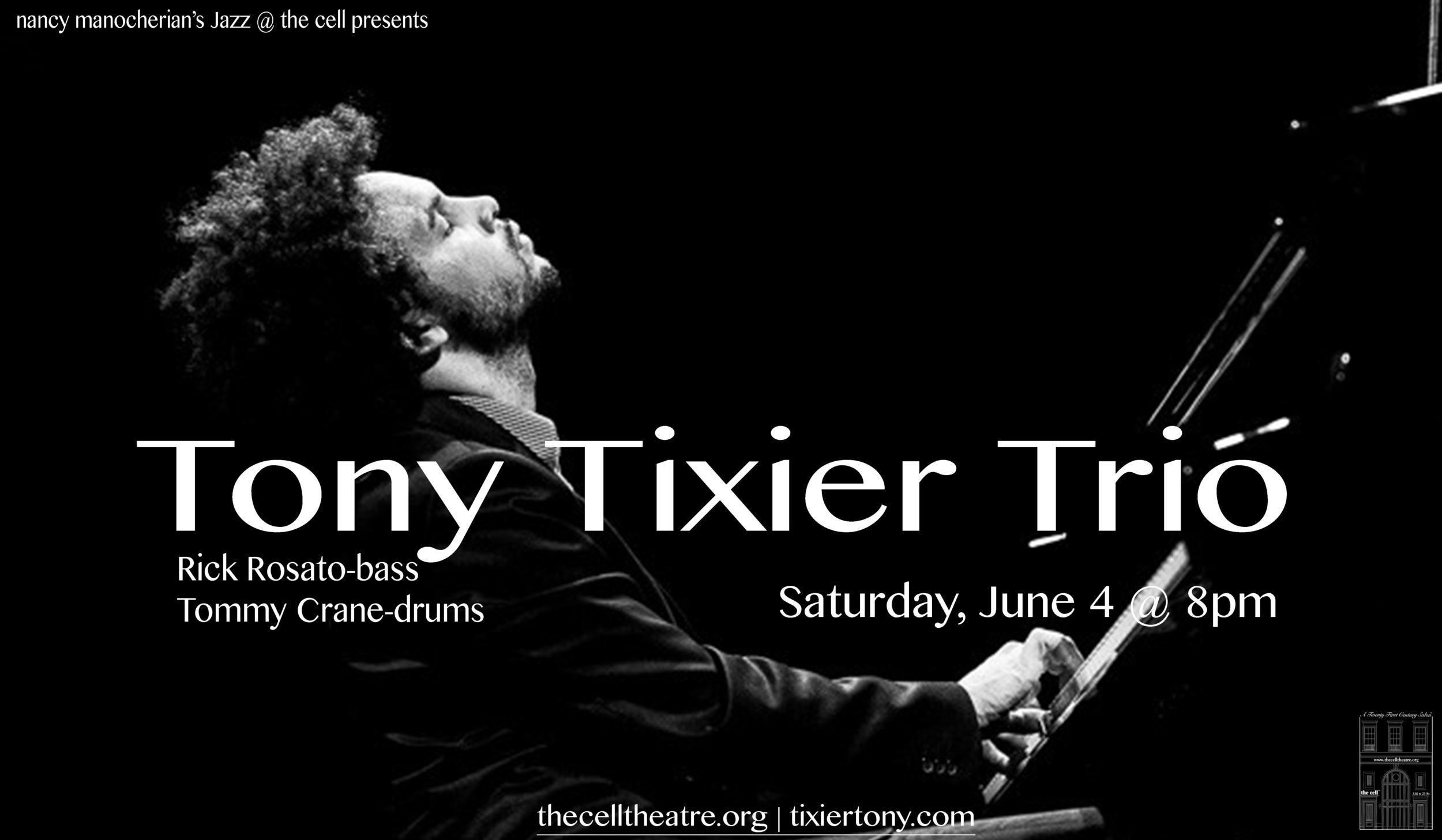 """""""Tony n'est pas seulement un pianiste aux qualités rares (puissance minérale du toucher, sensualité féline des impros), c'est aussi,à l'évidence, un leader né... une révélation? oh que oui!.""""   Jazz Magazine (Frederic Goaty)."""