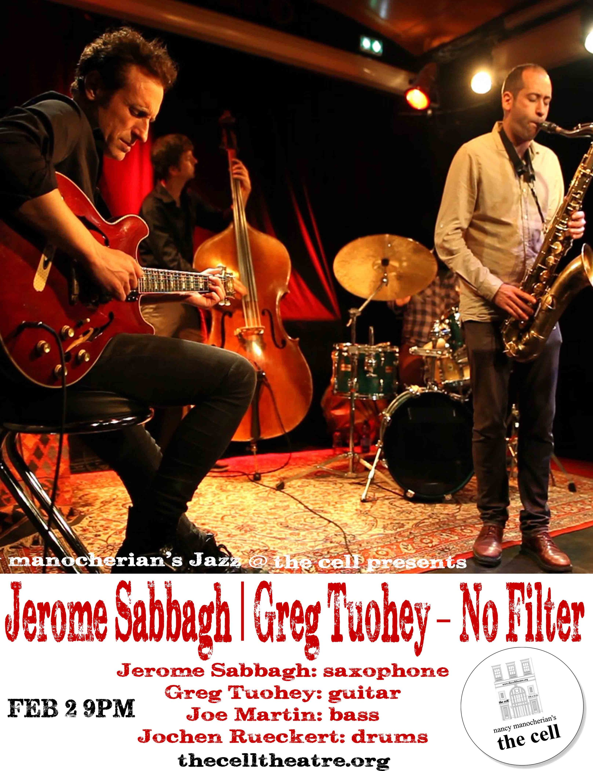 """""""Mr. Sabbagh played with untroubled self-assurance, and his songs had a sleek and sturdy appeal. What he is working toward, simply and effectively, is a sincerely personal vocabulary"""". - New York Times"""