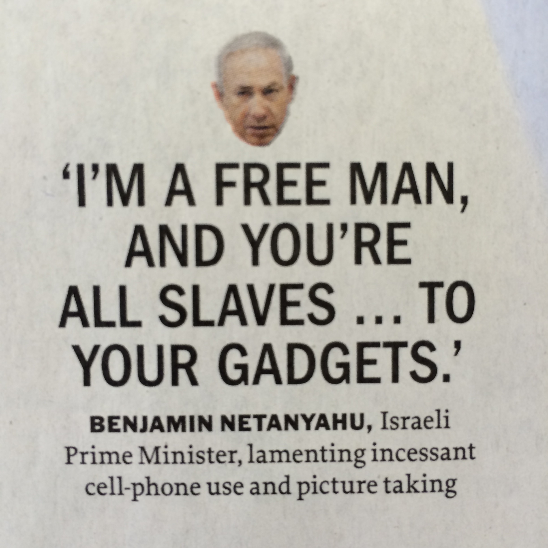 Benjamin Netanyahu, Israeli Prime Minister