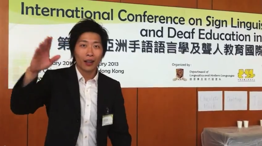 International Conference on Sign Linguistics and Deaf Education in Asia