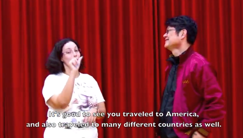 Brittany Branch-Smith visits the Japanese Theatre of the Deaf.