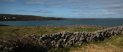 Walls on Inishmore