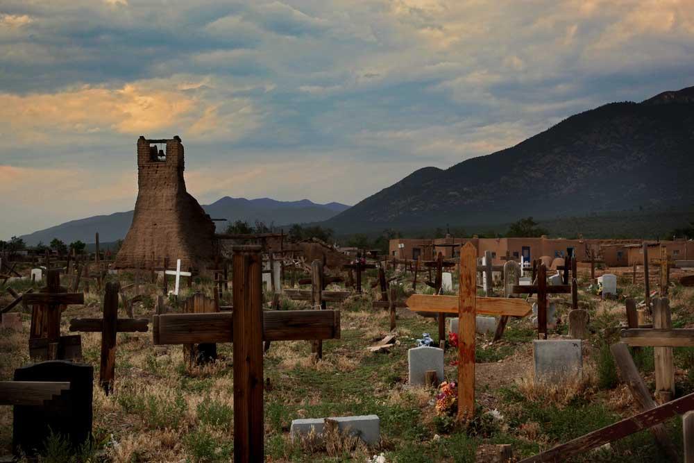 Cemetery, Taos Pueblo