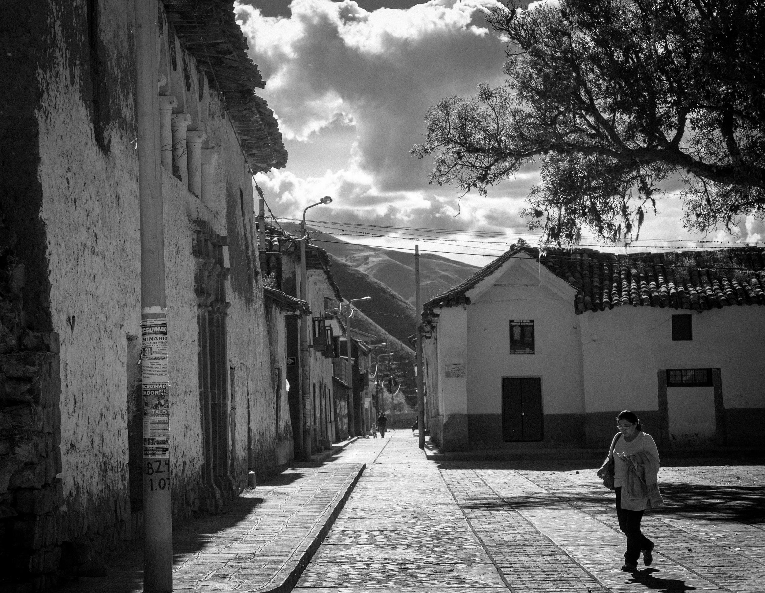 Street in Huaro