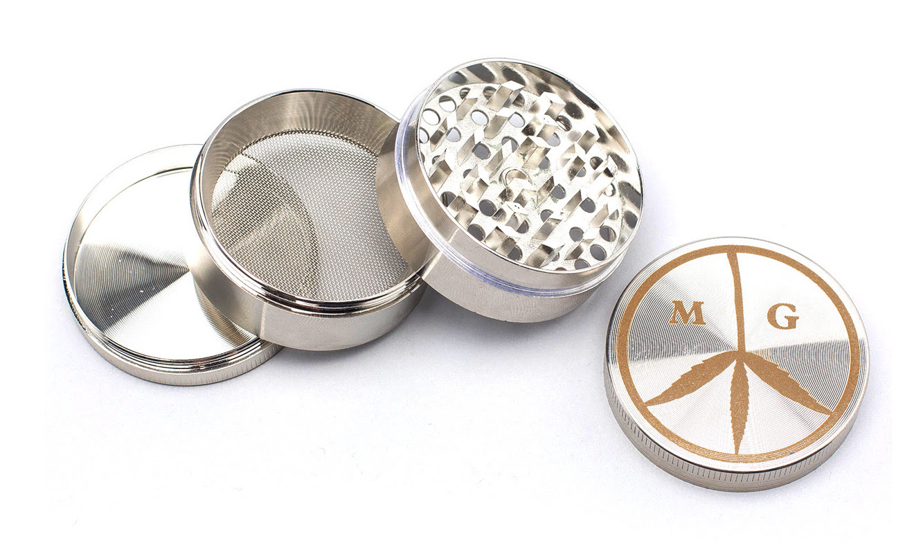"For your dad's ""toolbox� - Even the most OG stoner dads need an upgrade to their weed toolbox sometimes. A four-chamber stainless steel grinder from our favorite Mister Green will sit pretty atop wherever your dad keeps their stash."