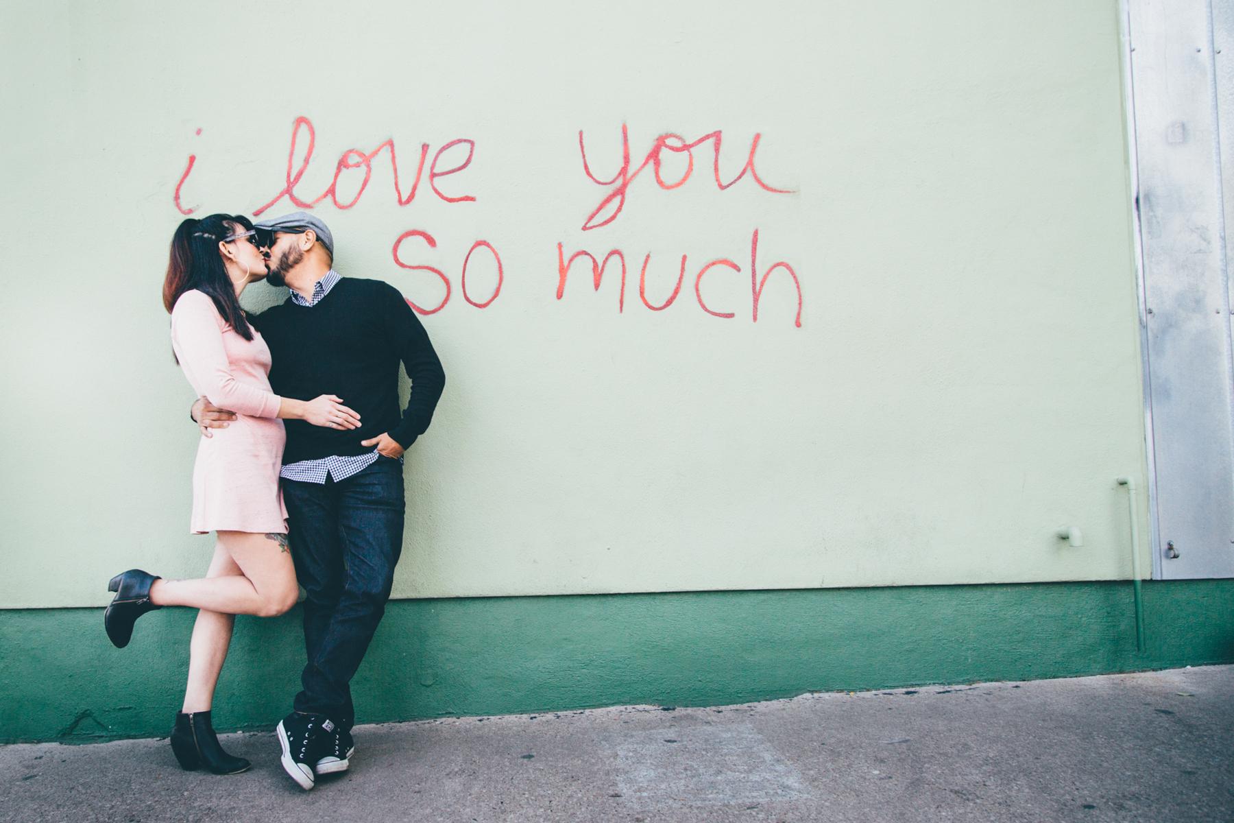 Austin Vegan Engagement Photographer
