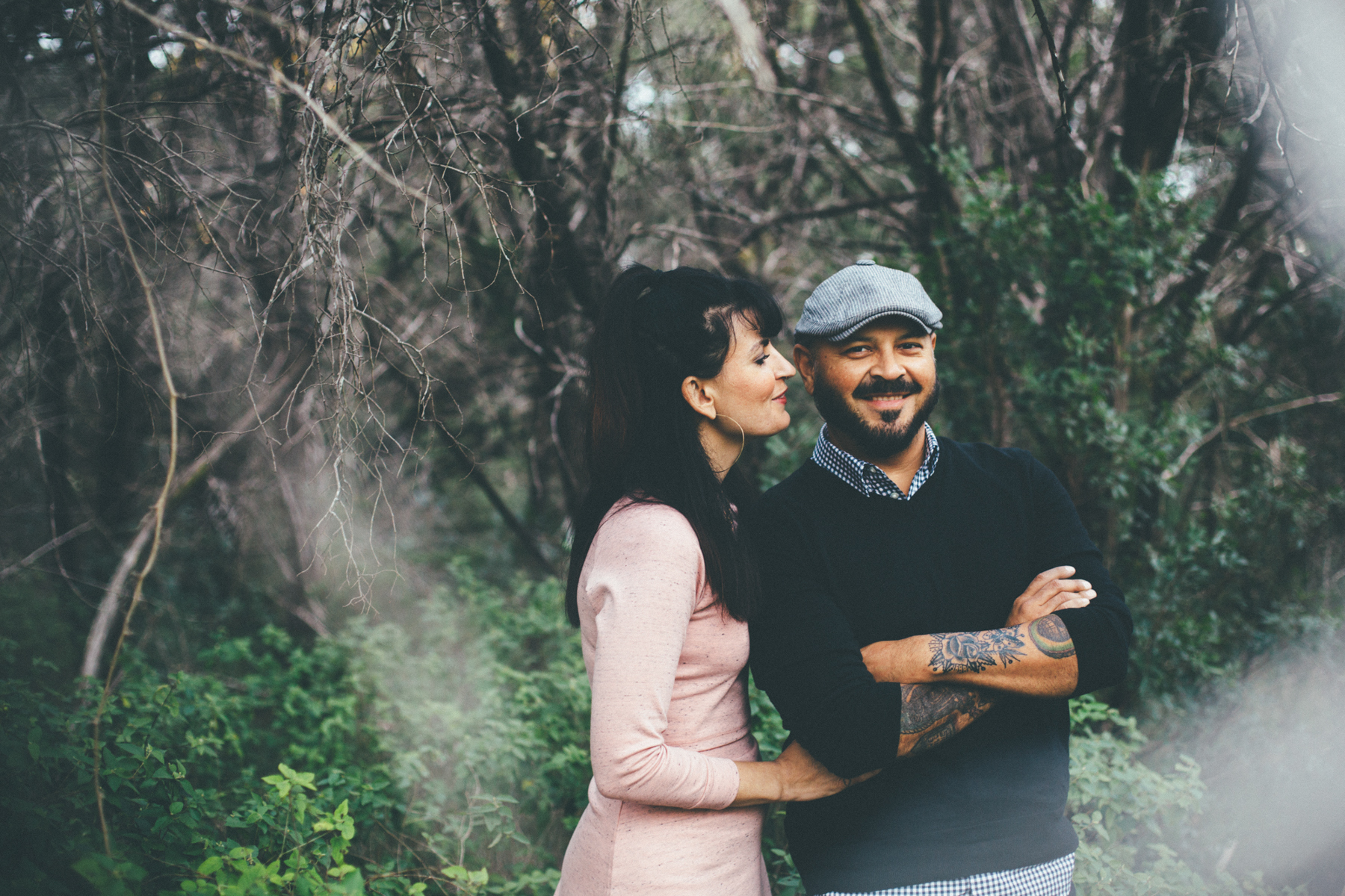 Austin Vegan Engagement Photographer