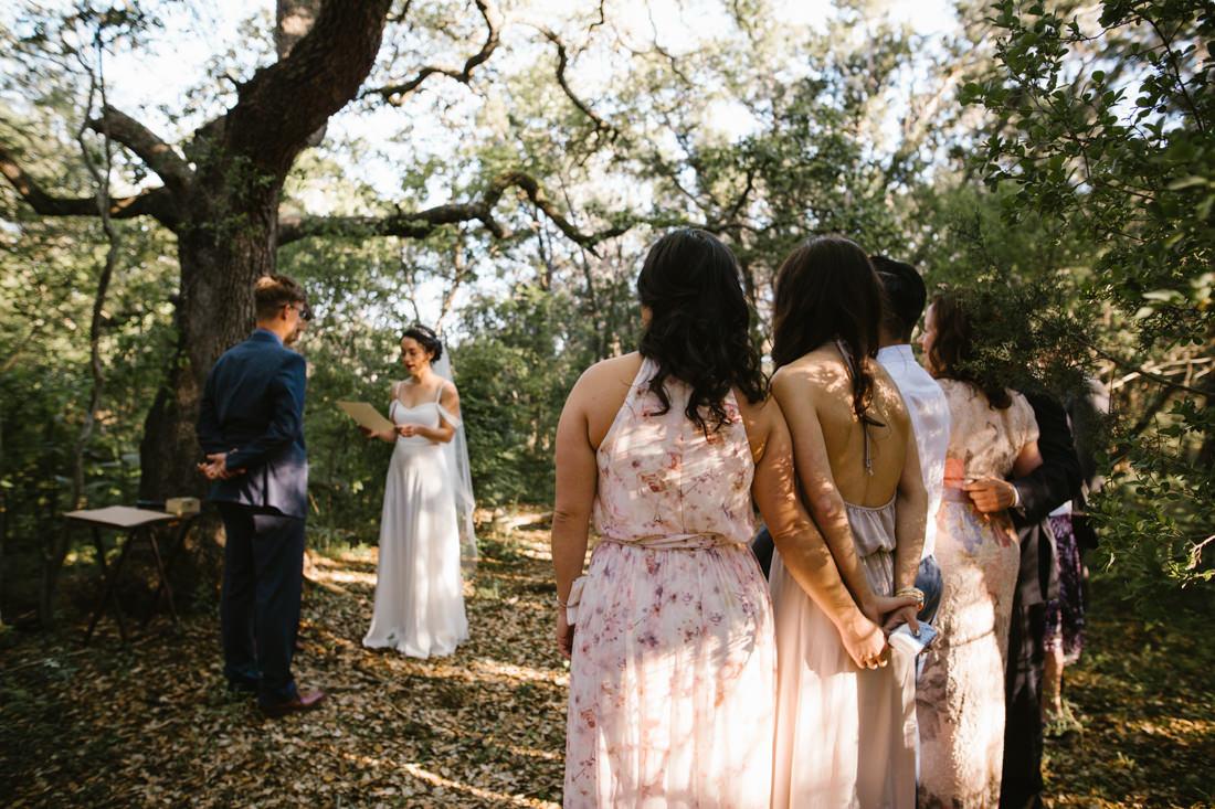 Small Barton Creek Wedding