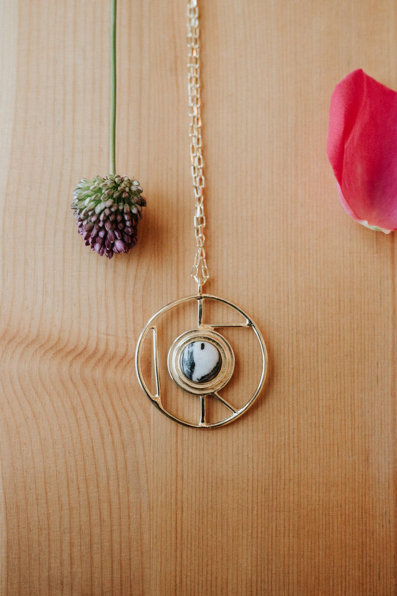 Beautiful geometric handmade jewelry