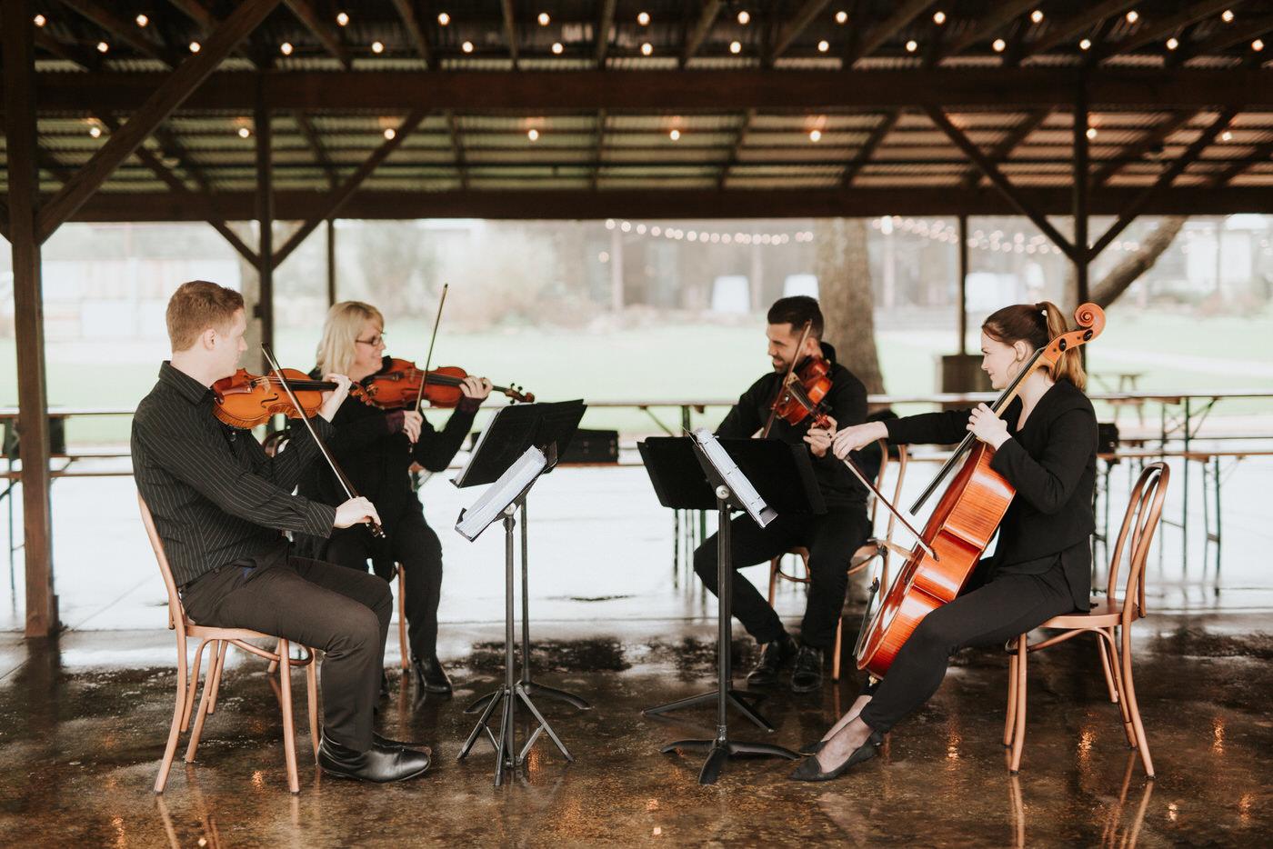 Terra Vista musicians playing at wedding