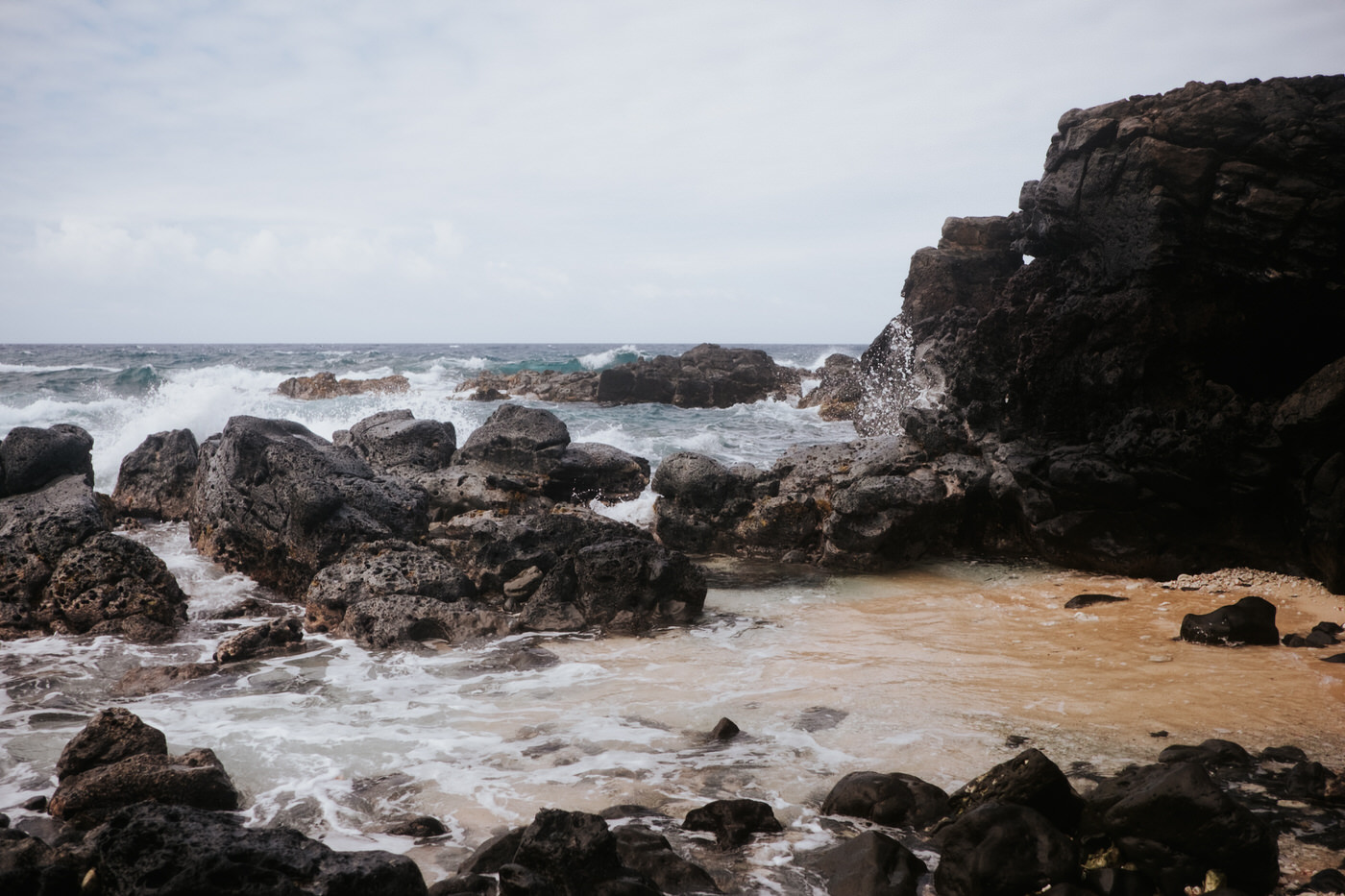 Pacific ocean photography in Hawaii