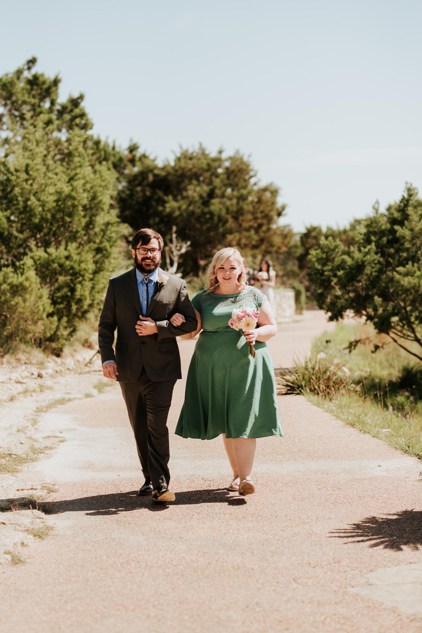 Couple at Chapel Dulcinea wedding