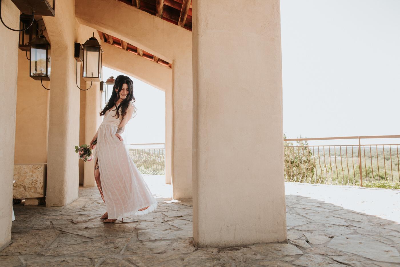 Bride at Chapel Dulcinea