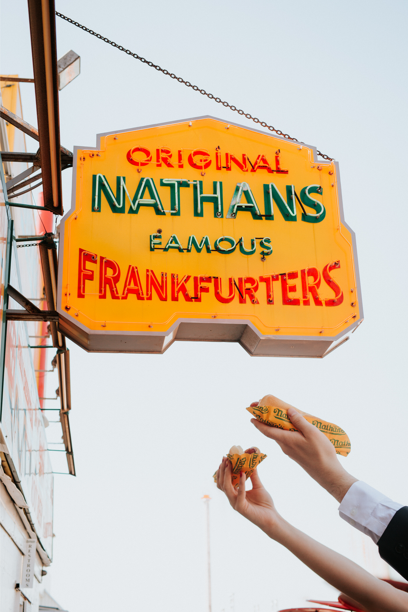 Nathan's Famous Hot Dogs Coney Island