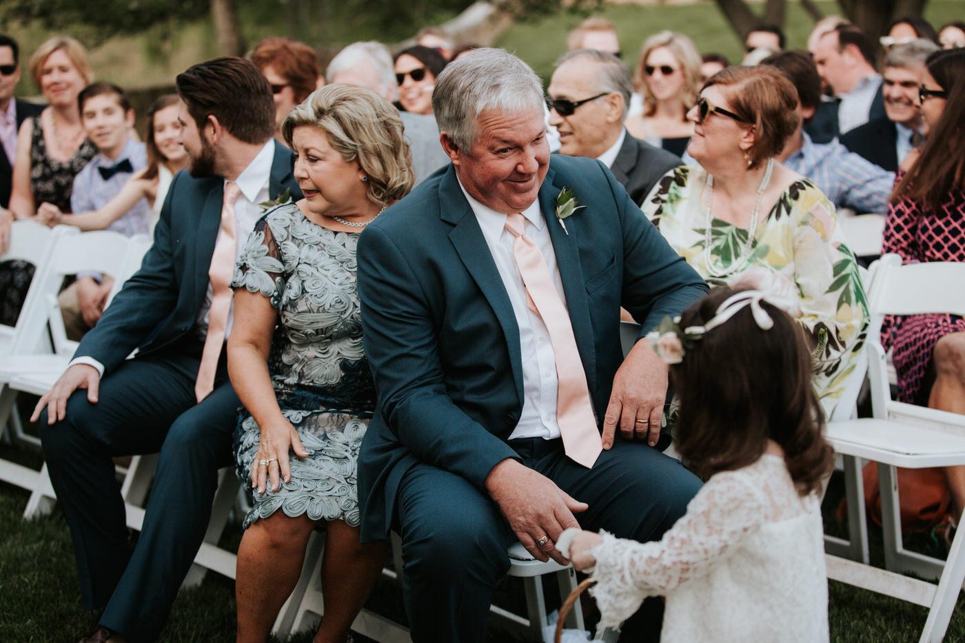 Wedding guests at Thurman's Mansion