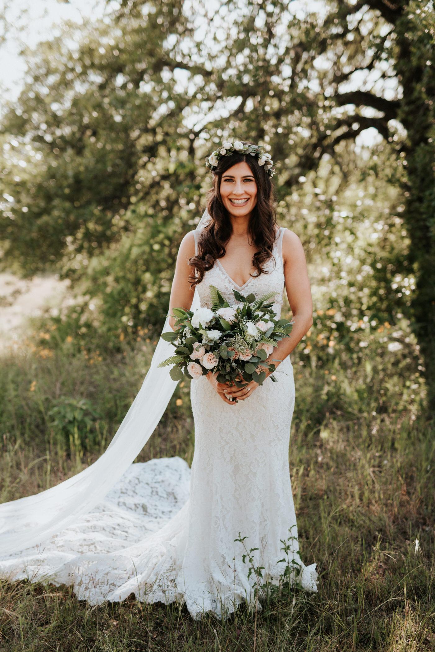 Bride at Thurman's Mansion wedding