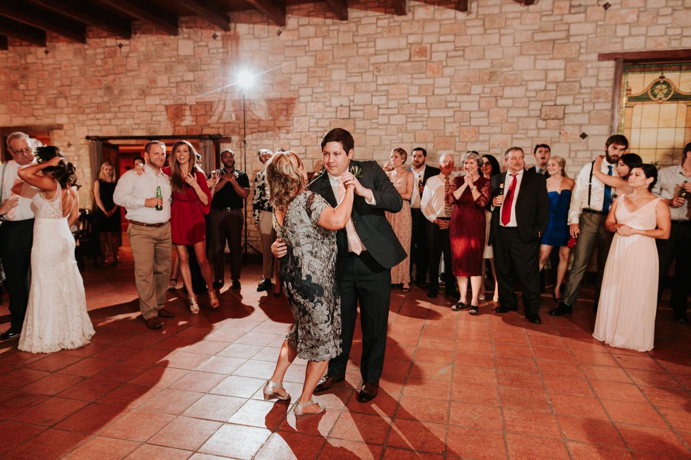 Wedding reception at Thurman's Mansion