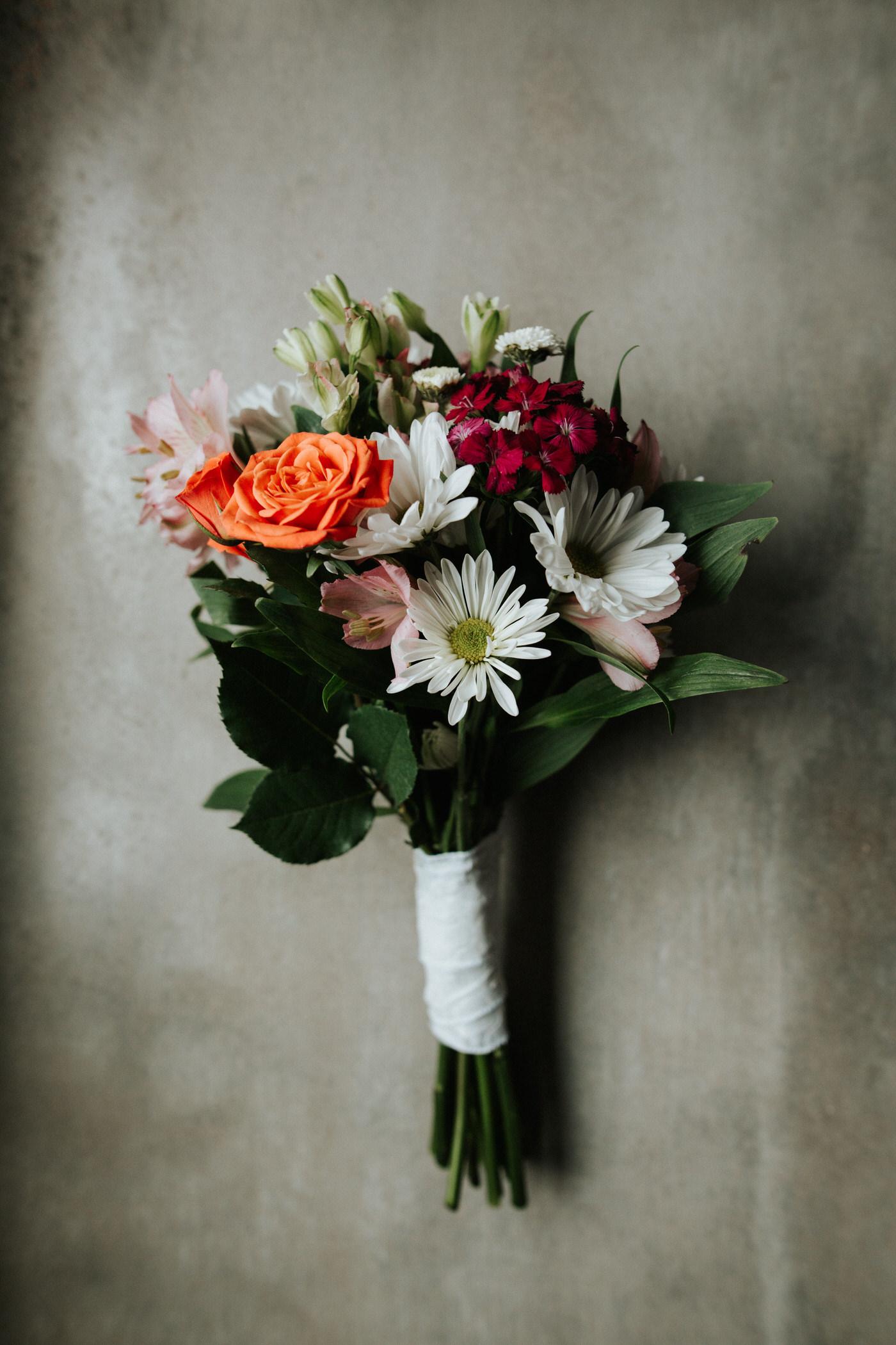Floral bouquet for Chapel Dulcinea wedding