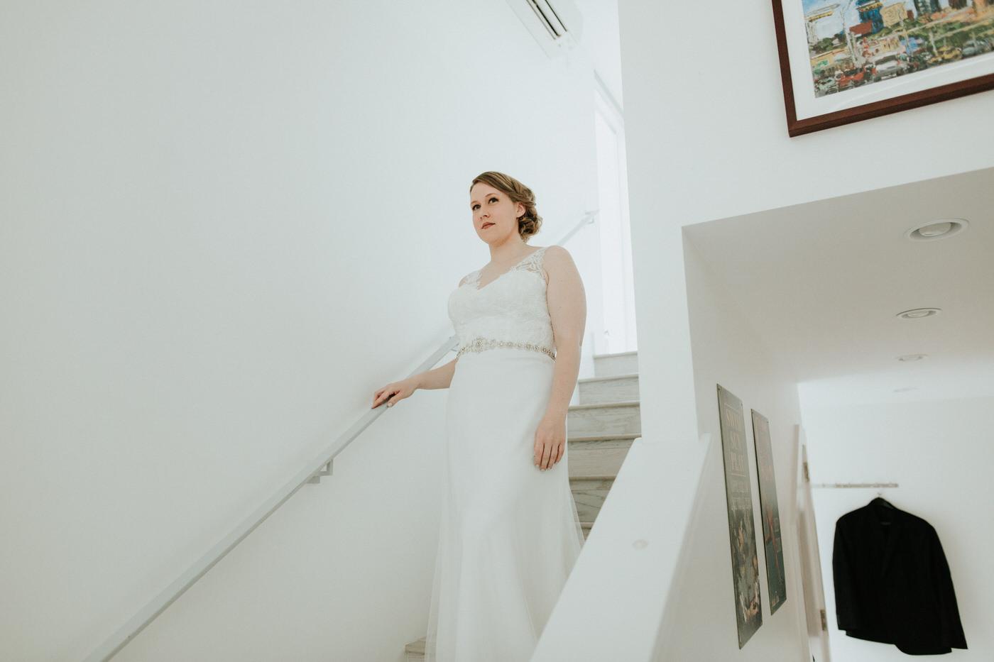 Bride at Chapel Dulcinea wedding