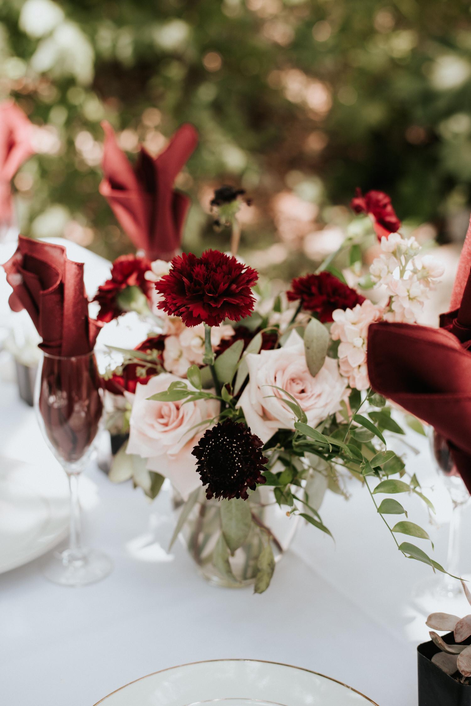 Wedding decor at The Sanctuary Austin