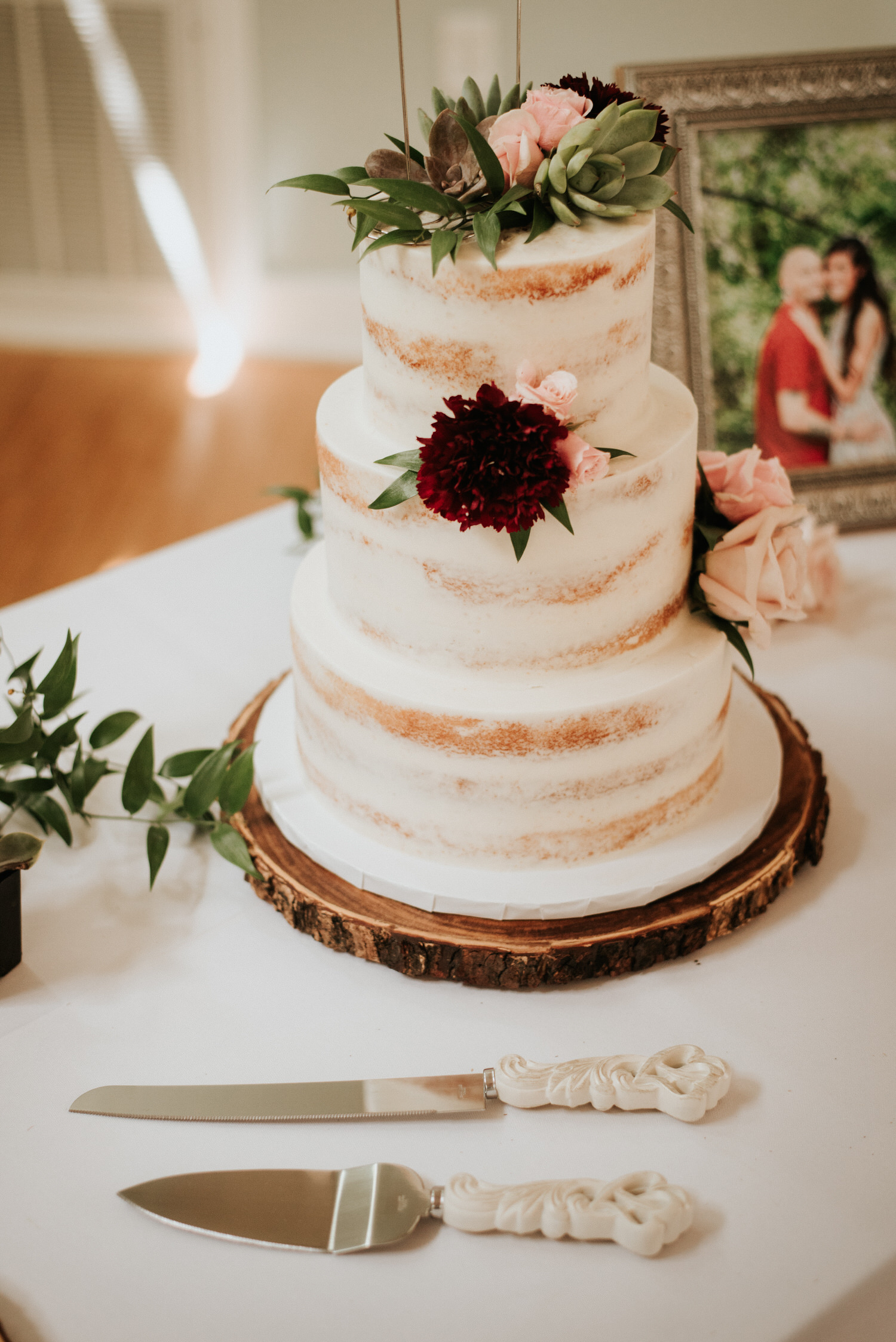 Wedding cake at The Sanctuary Austin