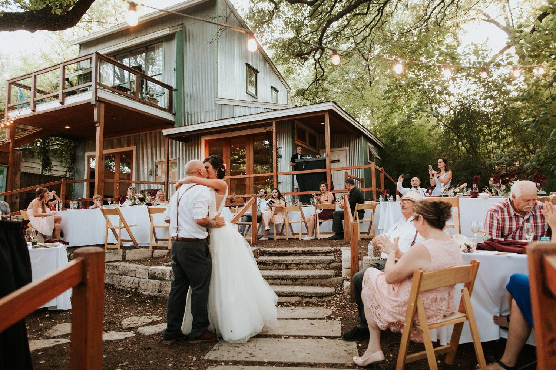 Wedding reception at The Sanctuary wedding