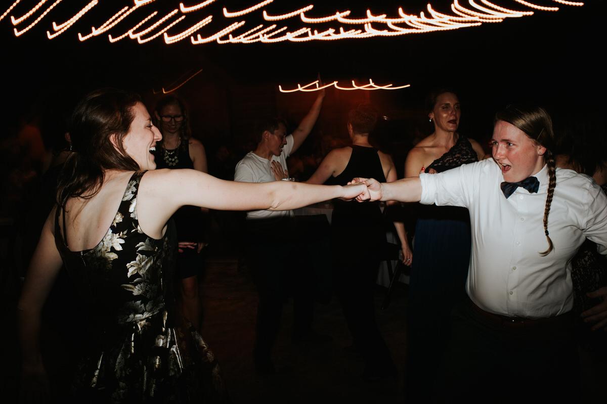Ranch Austin wedding reception