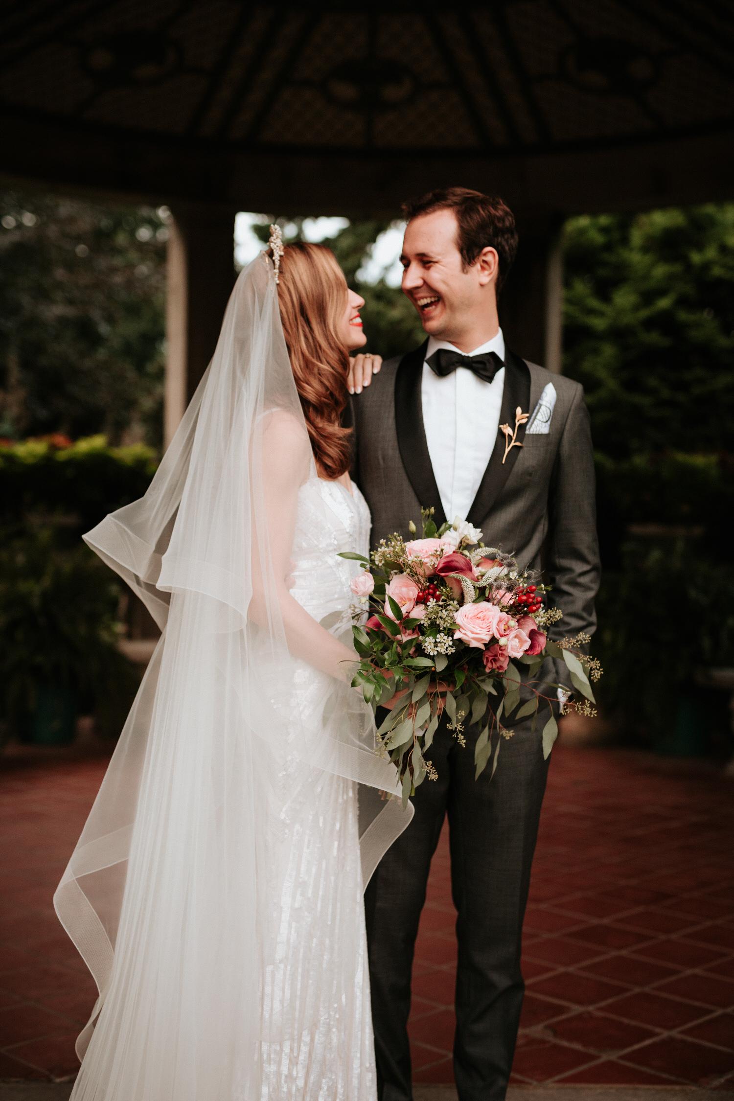 Bridal party at Eolia Mansion Wedding