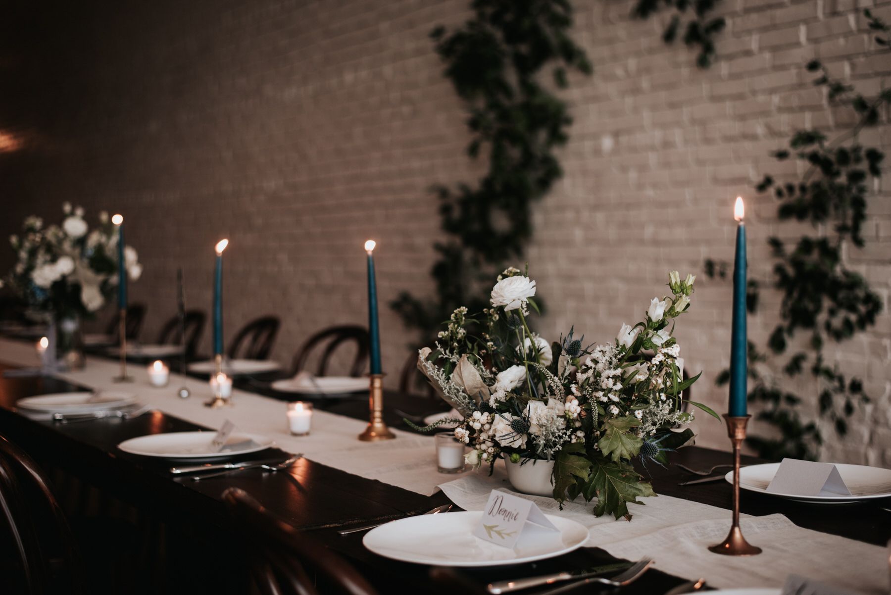 One Eleven East wedding decor