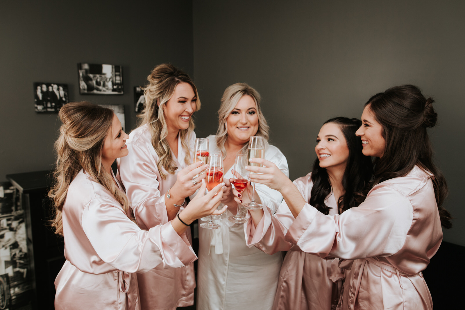 Bridal party at Schenectady wedding
