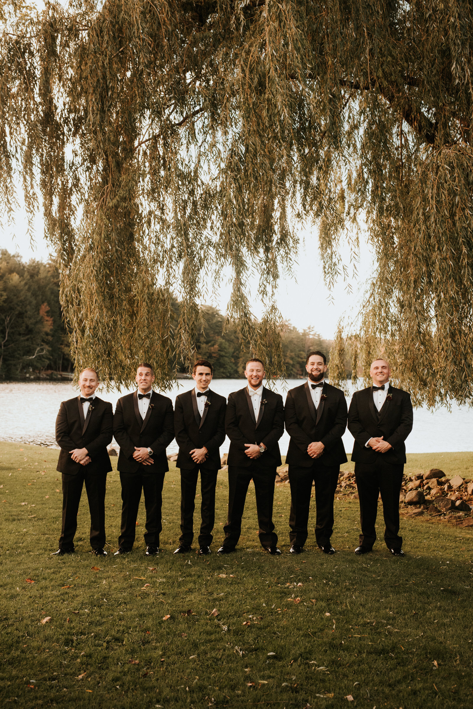 Bridal party at Old Daley Schenectady wedding