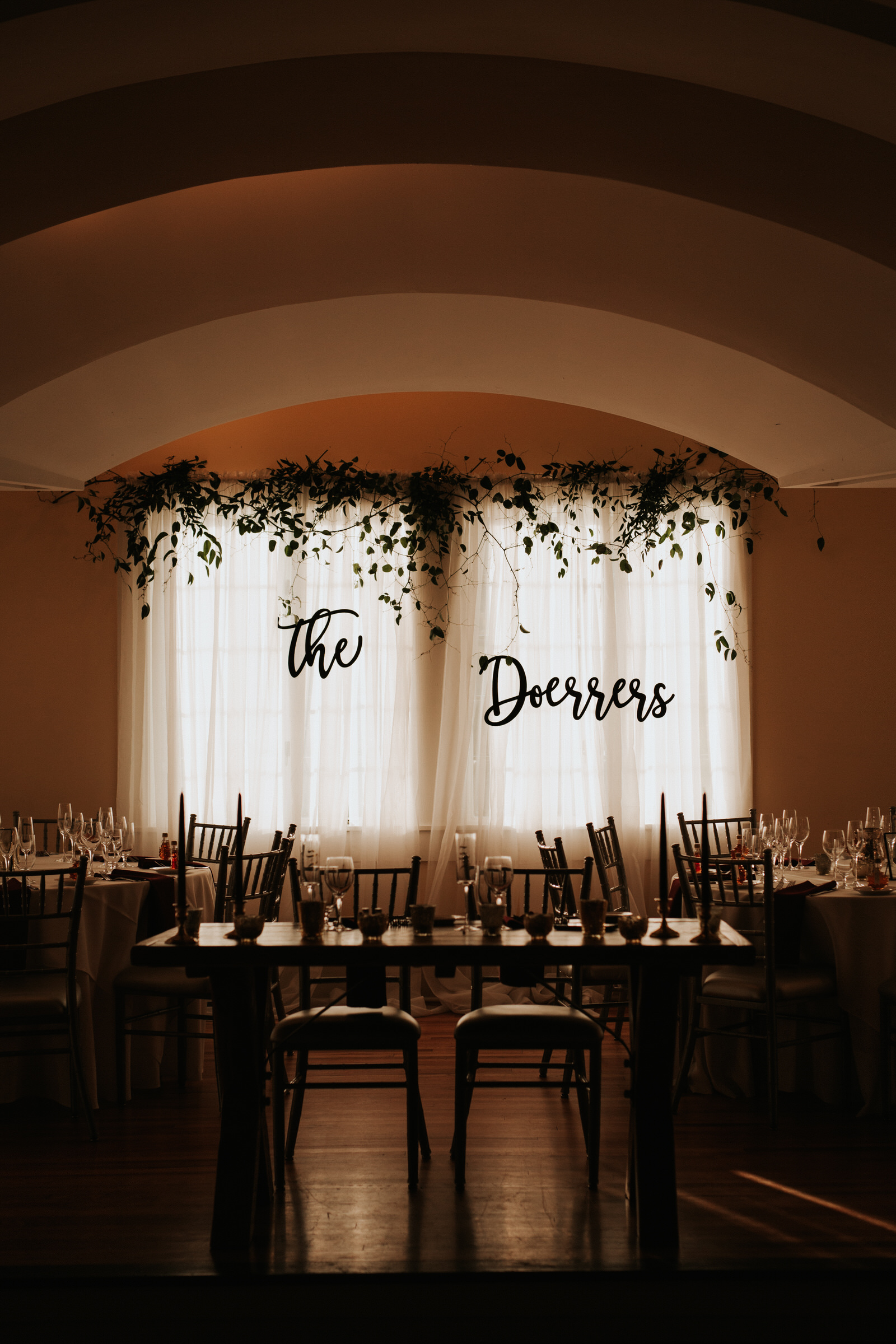 Old Daley Schenectady wedding decor