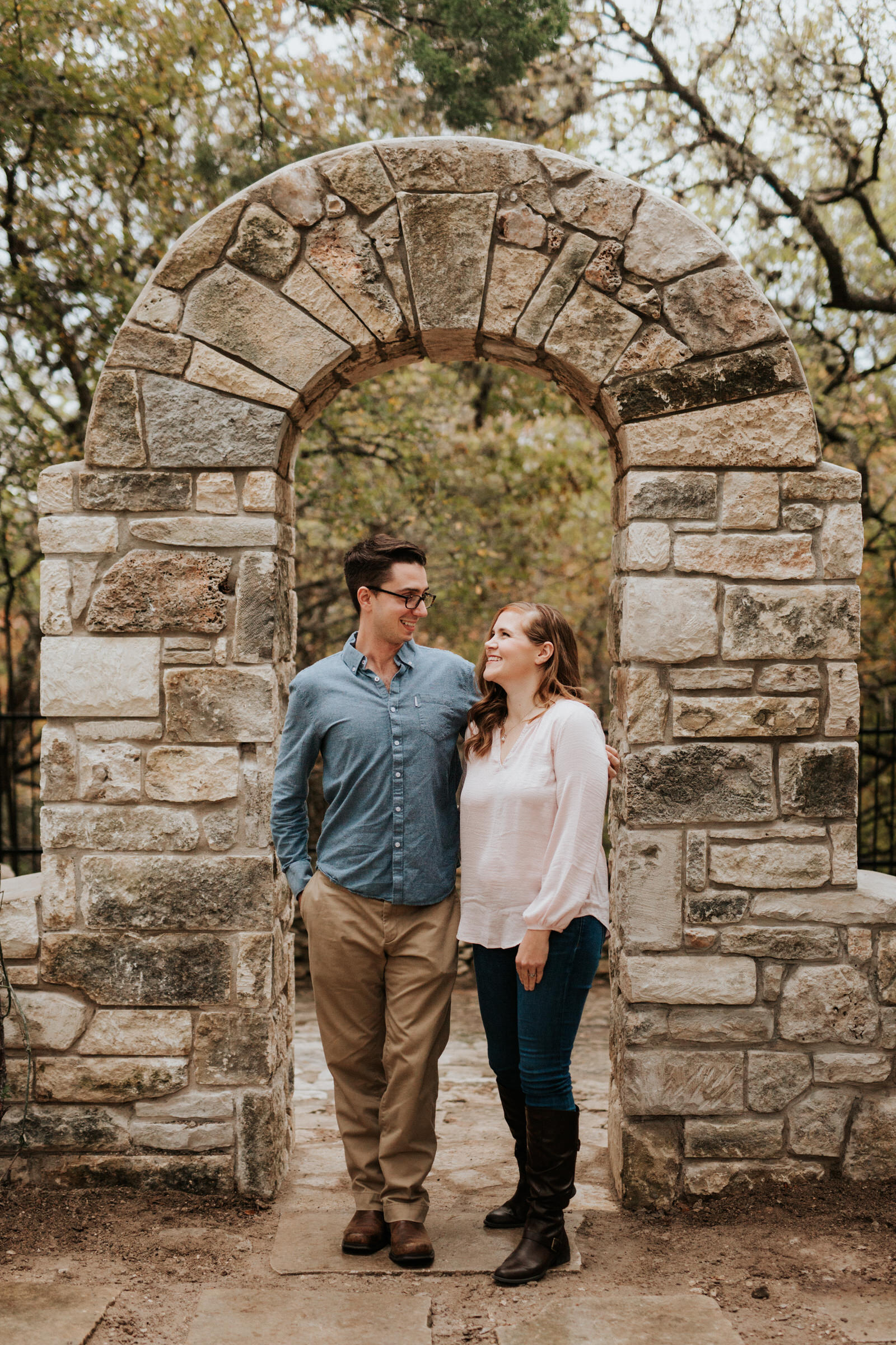 Mayfield Park engagement shoot