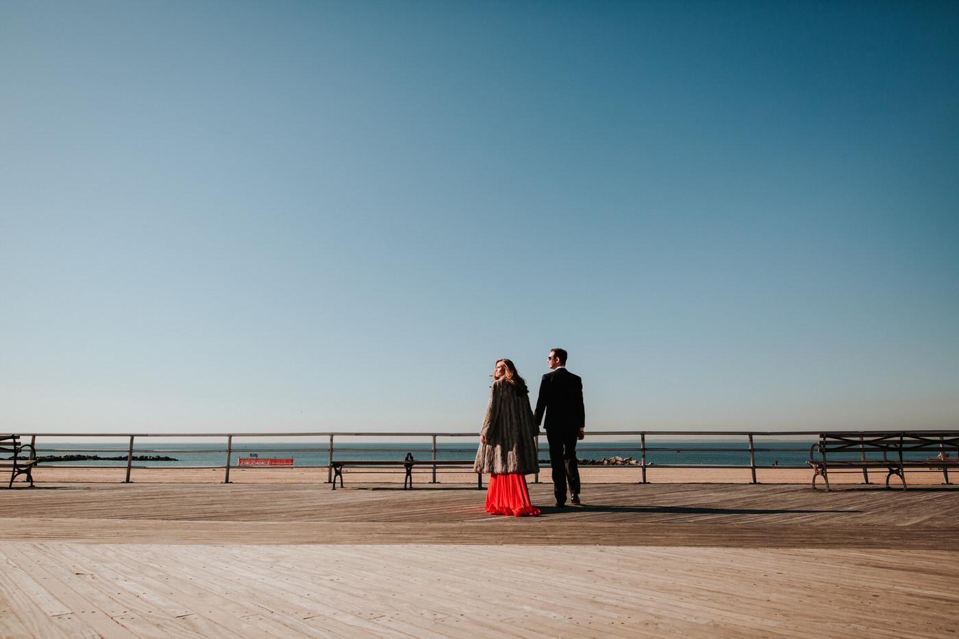 Coney Island Engagement - Diana Ascarrrunz Photography -22.jpg