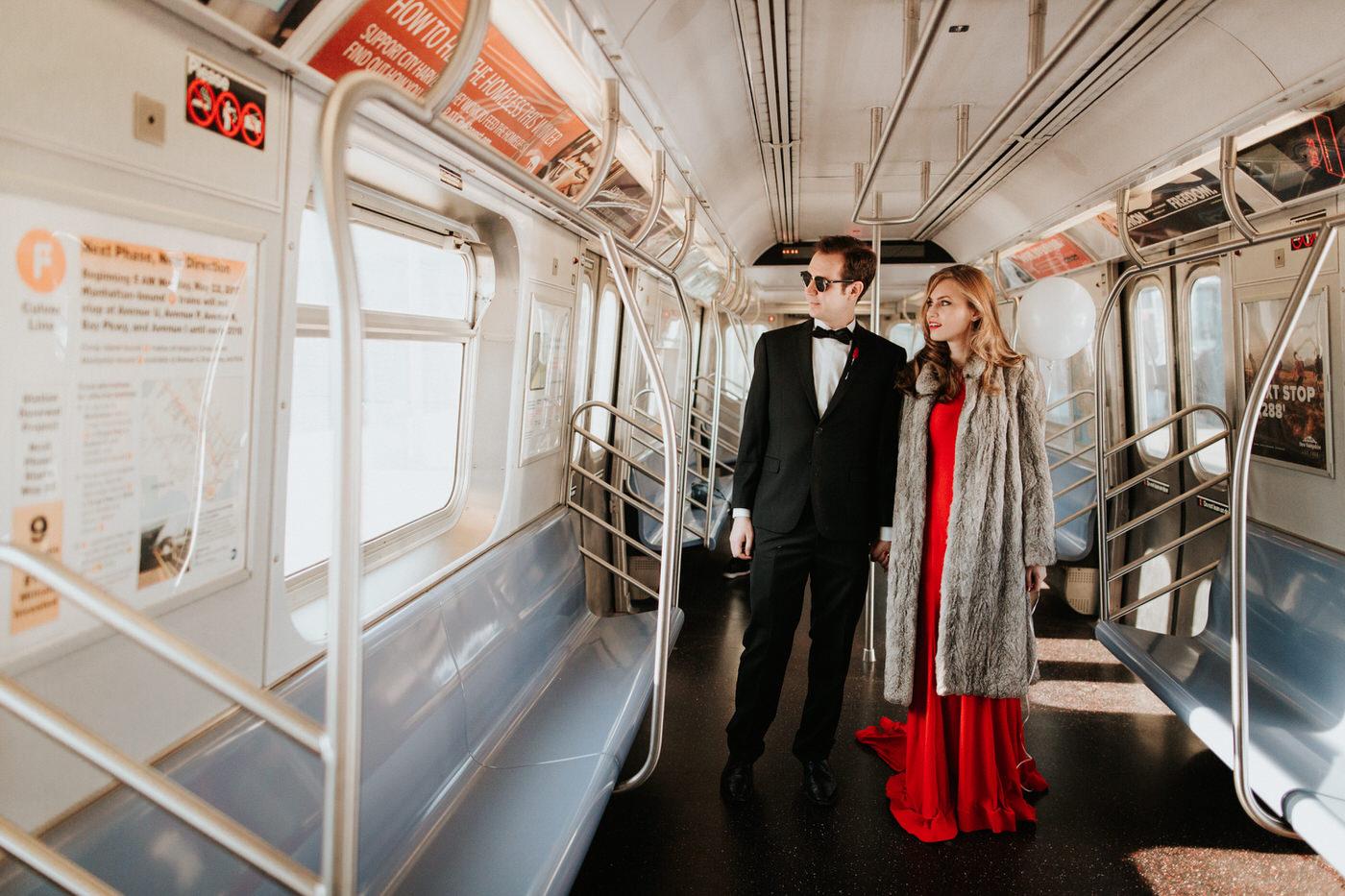 New York Subway Engagement - Diana Ascarrrunz Photography -3.jpg