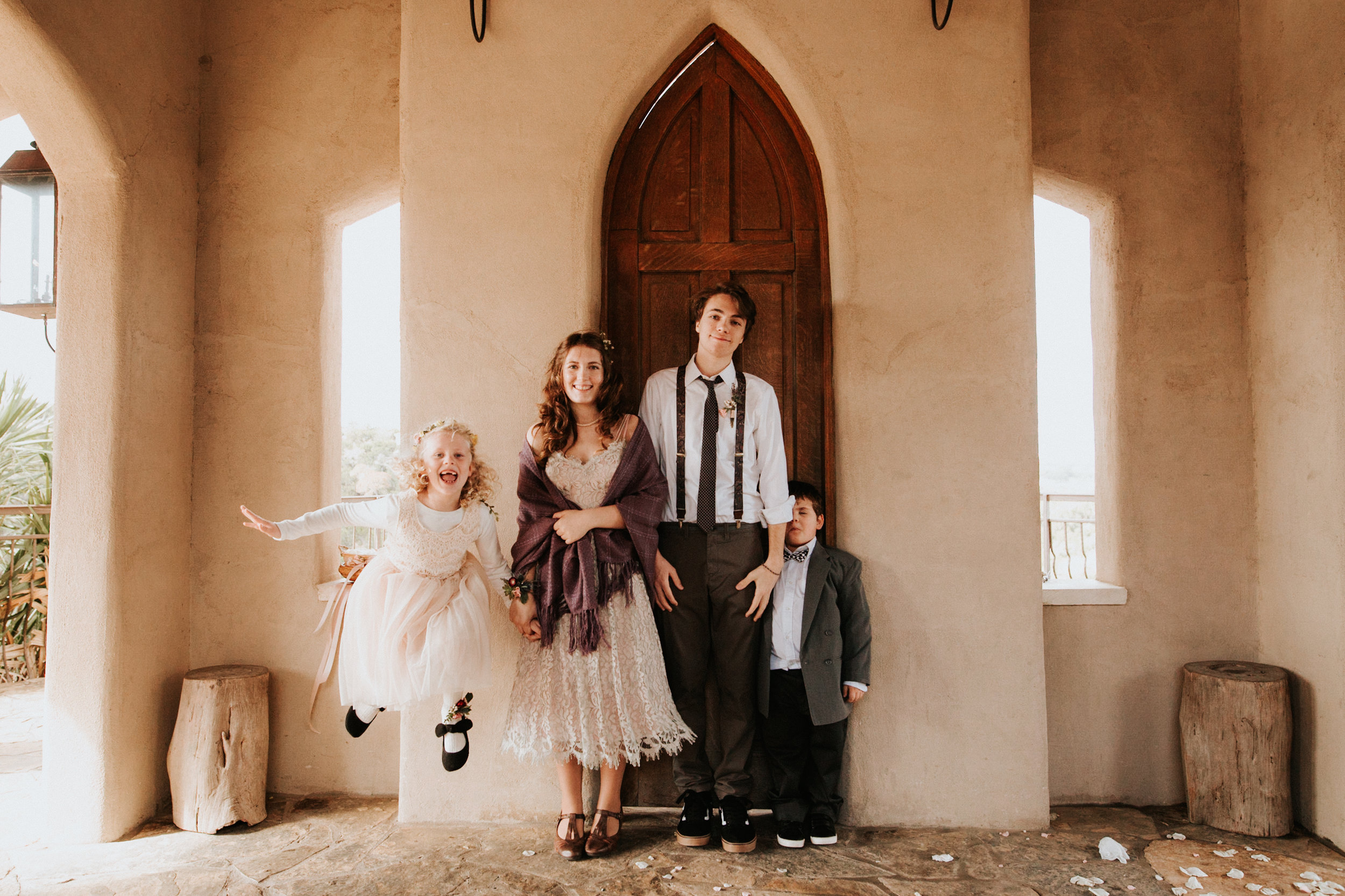 Austin wedding at Chapel Dulcinea