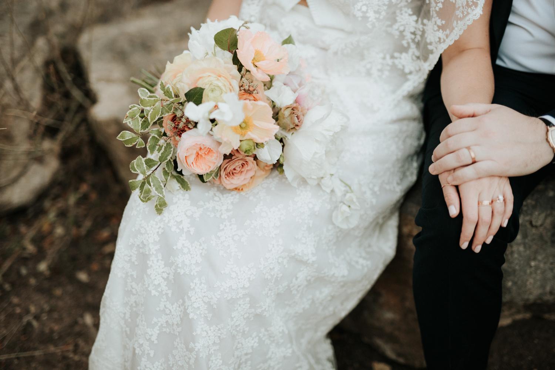 Austin boho elopement