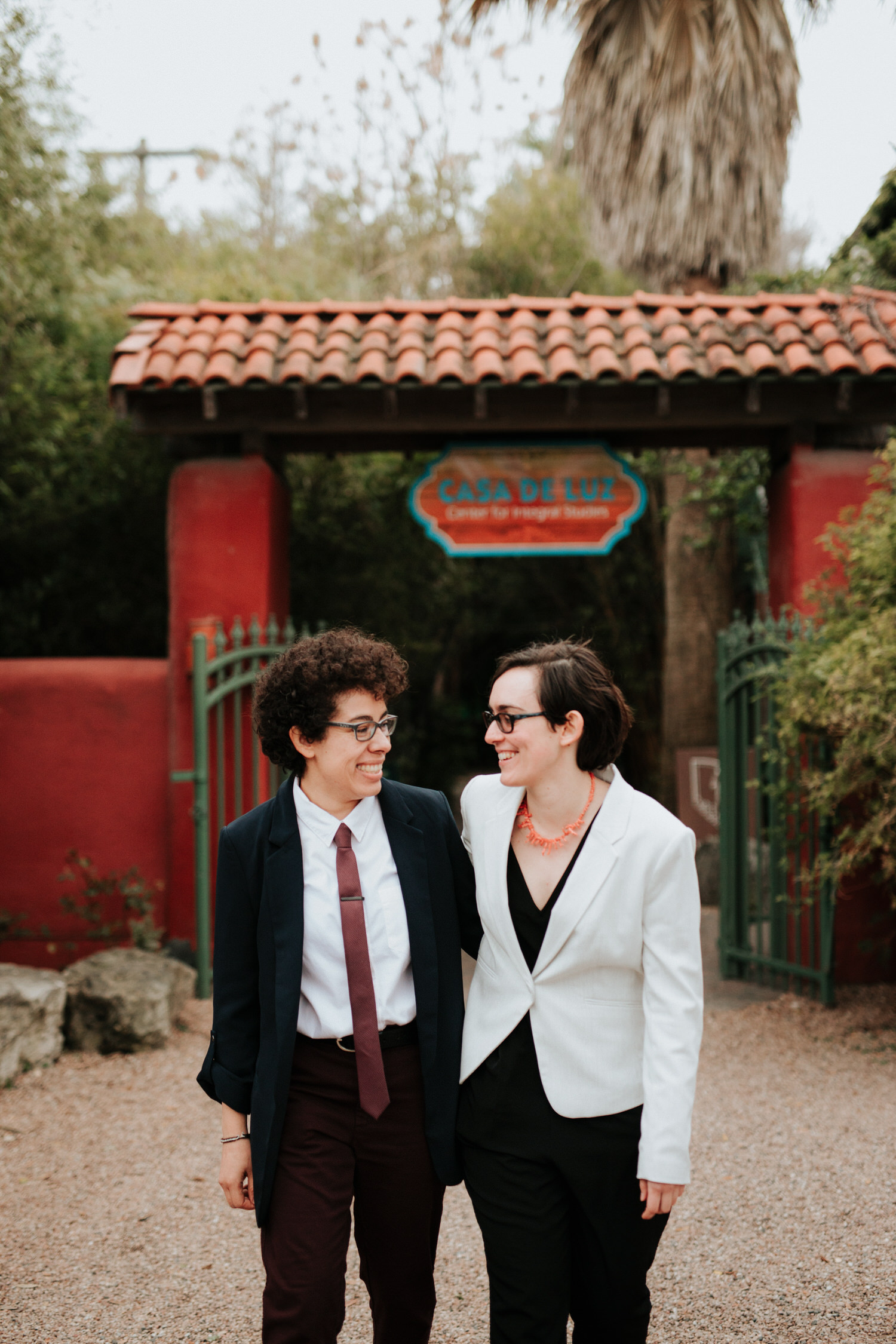 Non-traditional Austin wedding