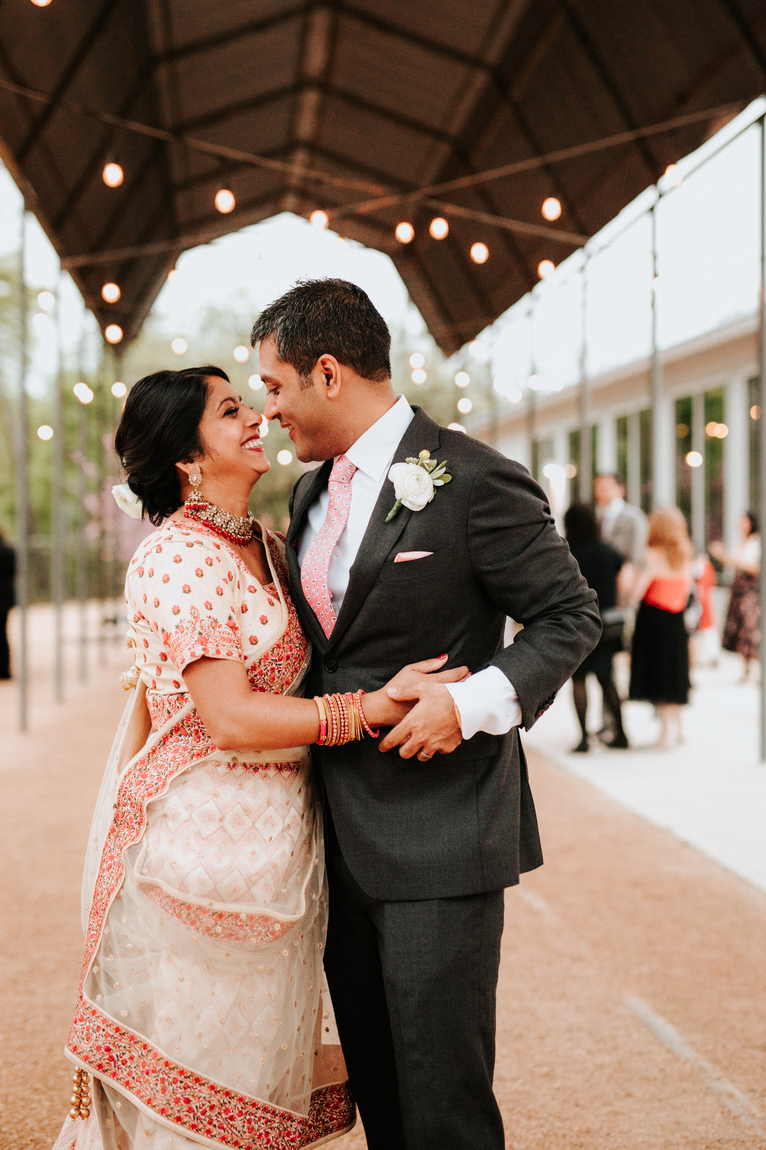 Austin Springdale Station Wedding