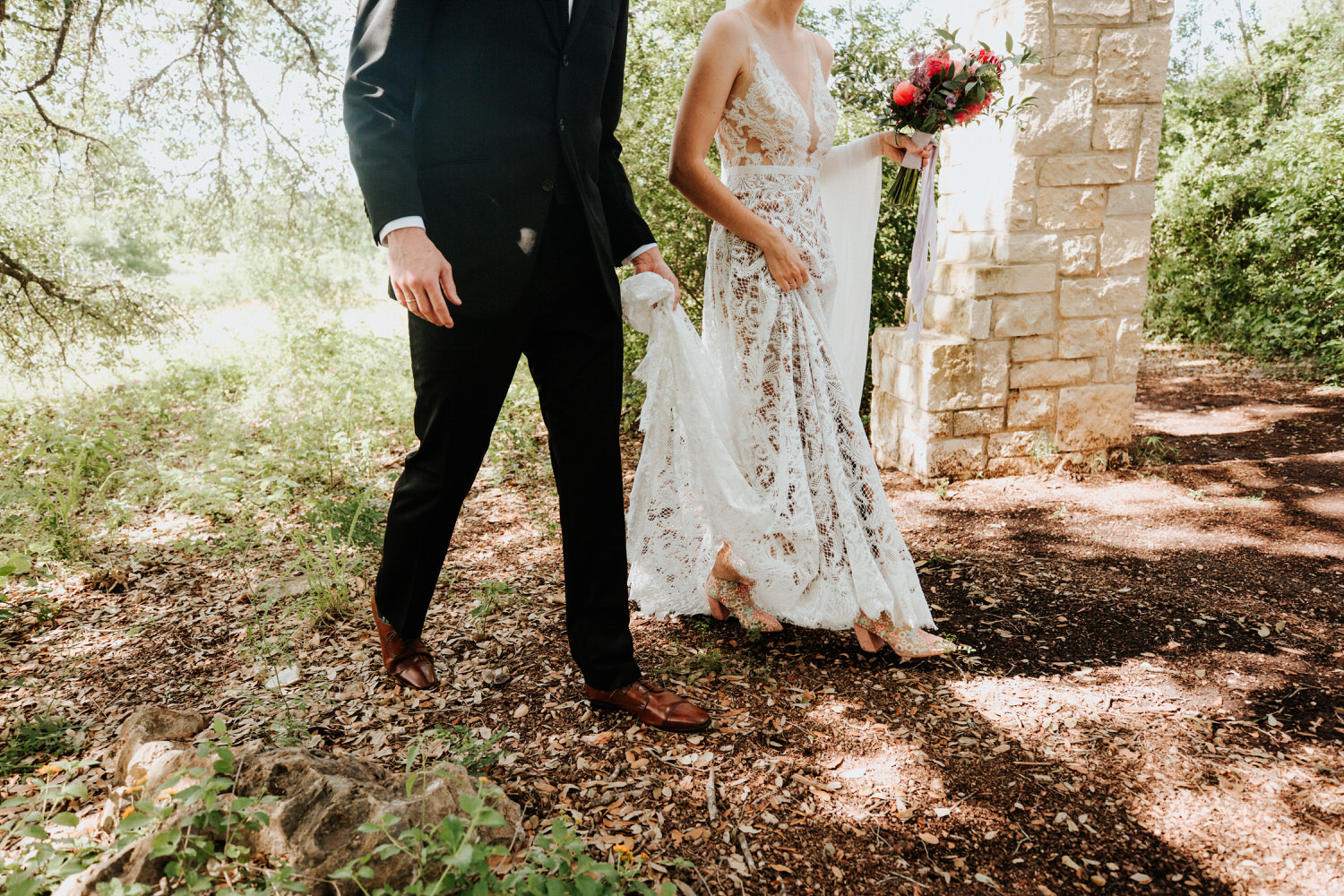Austin Wildflower Center wedding