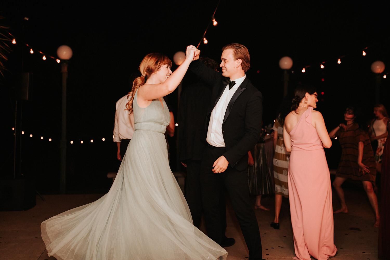 Laguna Gloria wedding reception photography