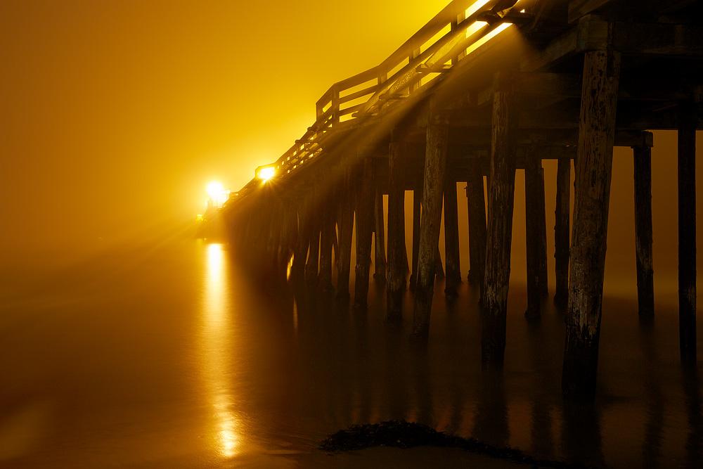 Capitola Pier #II - Capitola, CA    Canon 5D mark iii + Canon 17-40mm L @ f16