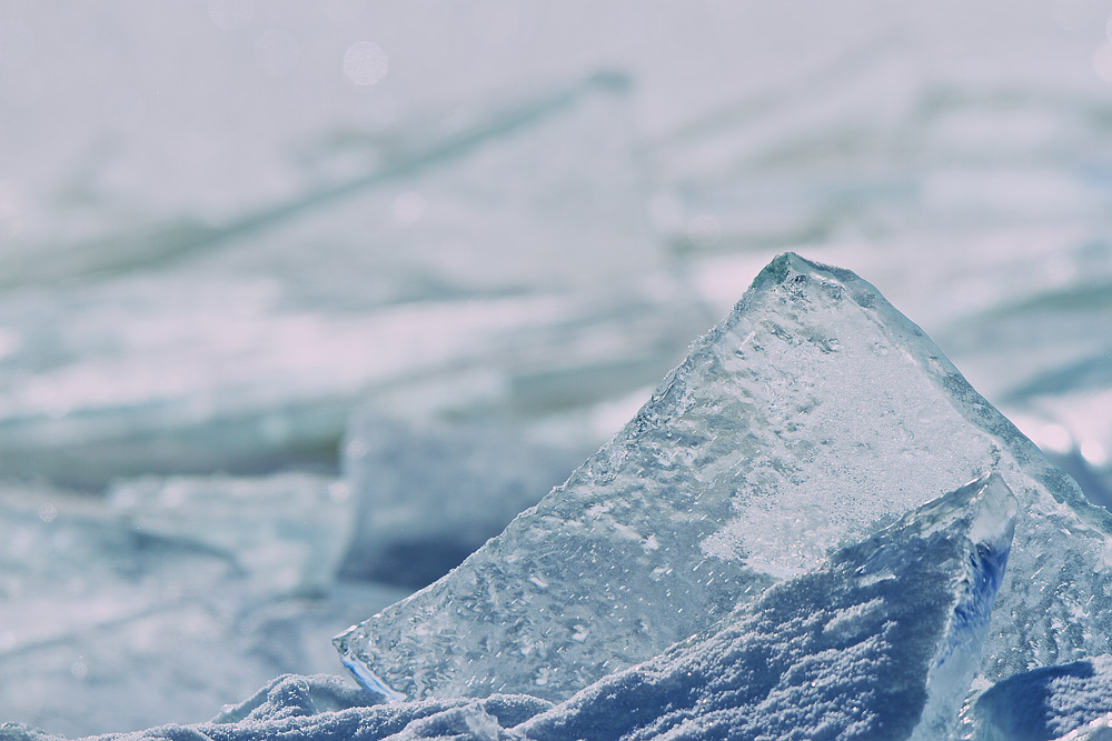 Ice Sheets on Lake Superior