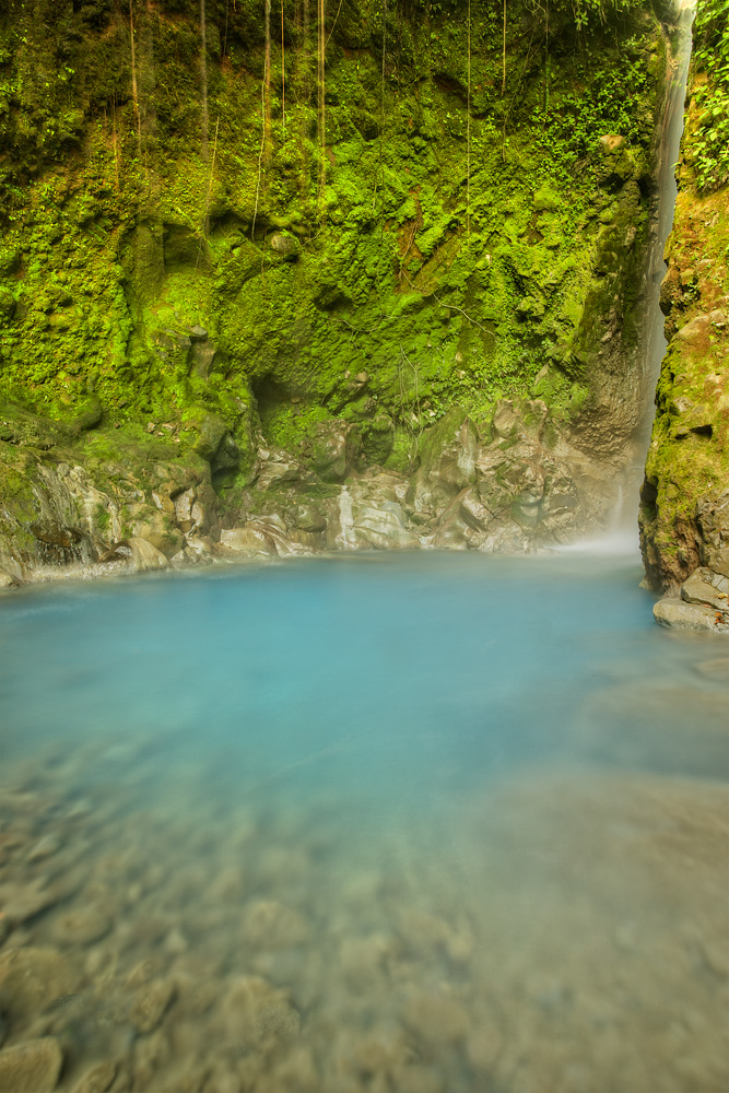 Blue Pool : Rincon de la Vieja National Park), Costa Rica